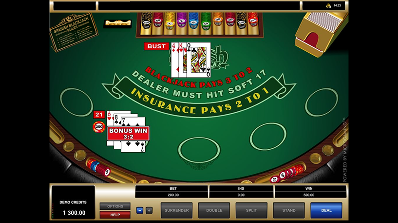 Spanish 21 Blackjack Screenshot 1