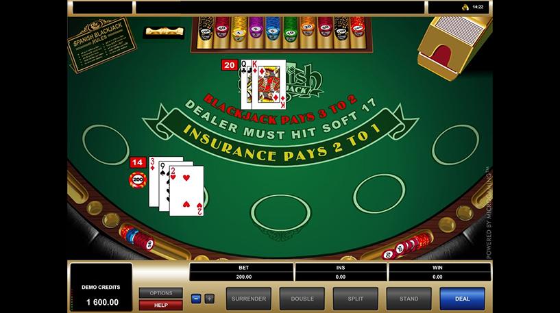 Spanish 21 Blackjack Screenshot 3