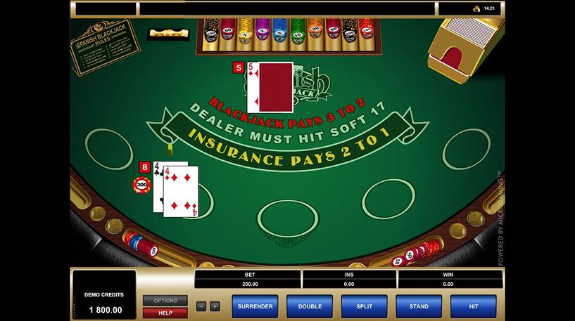 Spanish 21 Blackjack Screenshot 2