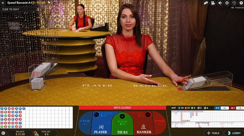 Live Speed Baccarat Screenshot 3