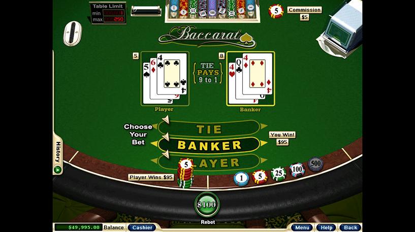 Three-Card Baccarat Screenshot 3