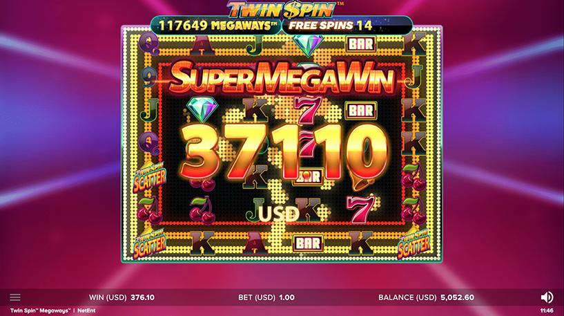Twin Spin Megaways Screenshot 2