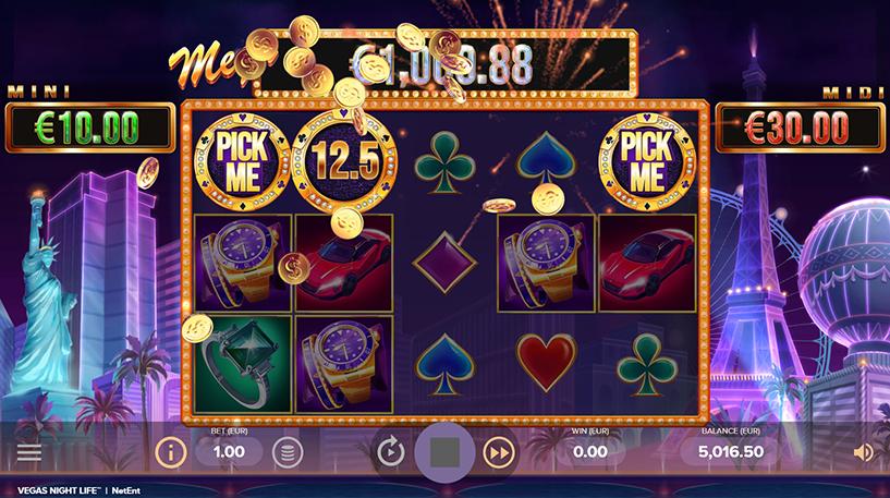 Vegas Night Life Slot Screenshot 3