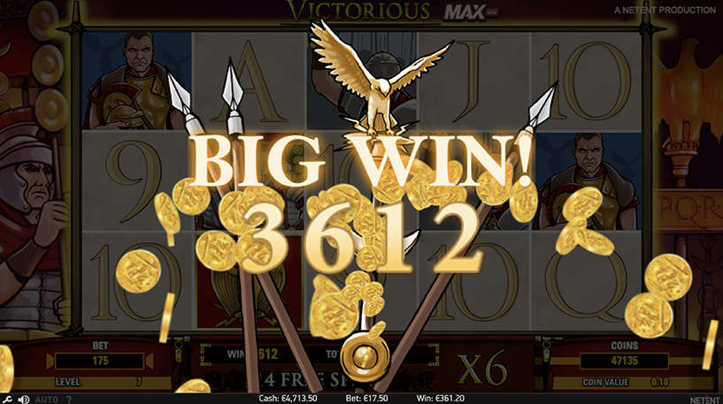 Victorious Max Slot Screenshot 2