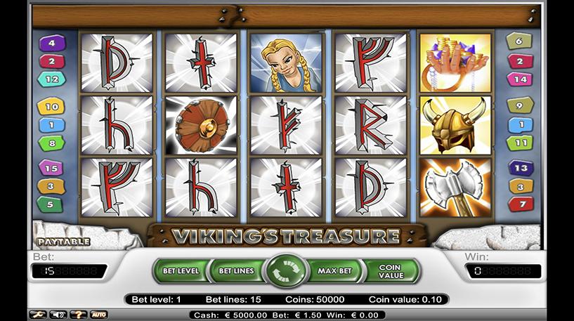 Vikings Treasure Slot Screenshot 2