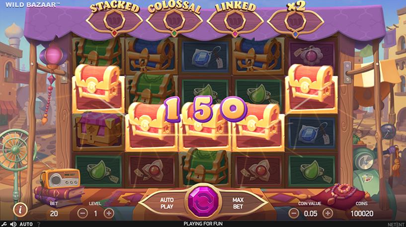 Wild Bazaar Slot Screenshot 1