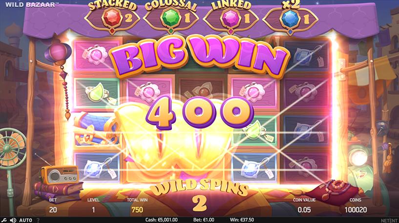 Wild Bazaar Slot Screenshot 2