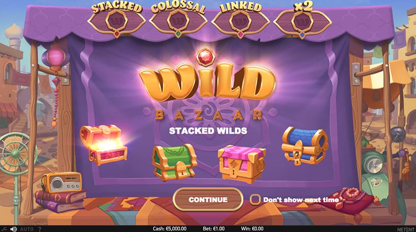 Wild Bazaar Slot Screenshot 3