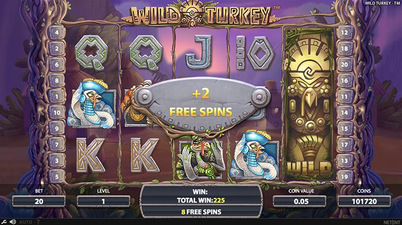 Wild Turkey Slot Screenshot 1