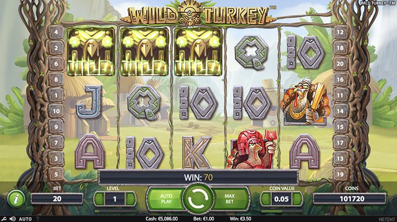 Wild Turkey Slot Screenshot 2