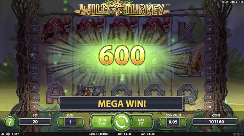Wild Turkey Slot Screenshot 3