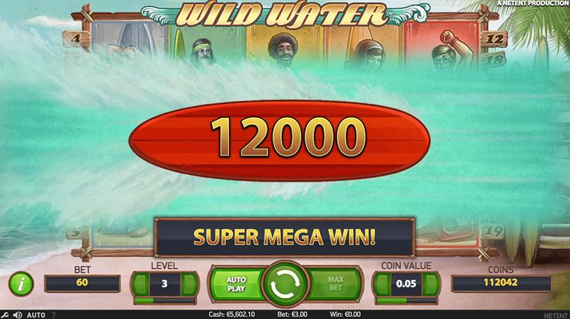 Wild Water Slot Screenshot 2