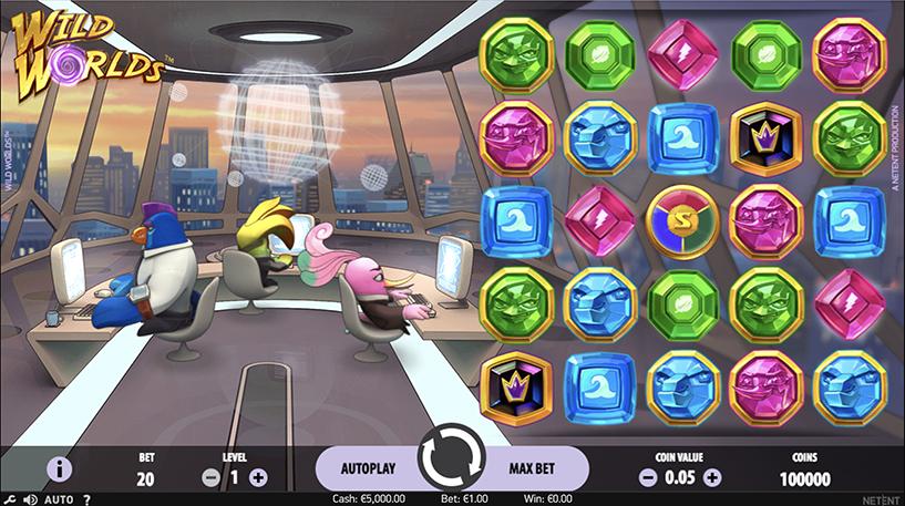 Wild Worlds Slot Screenshot 3