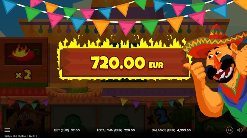 Willy's Hot Chillies Screenshot 1