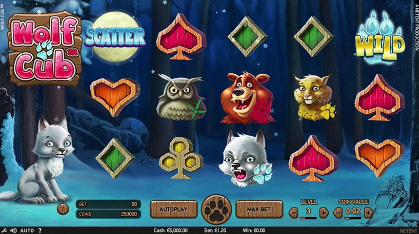 Wolf Cub Slot Screenshot 1