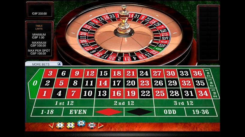 3D Roulette Screenshot 2