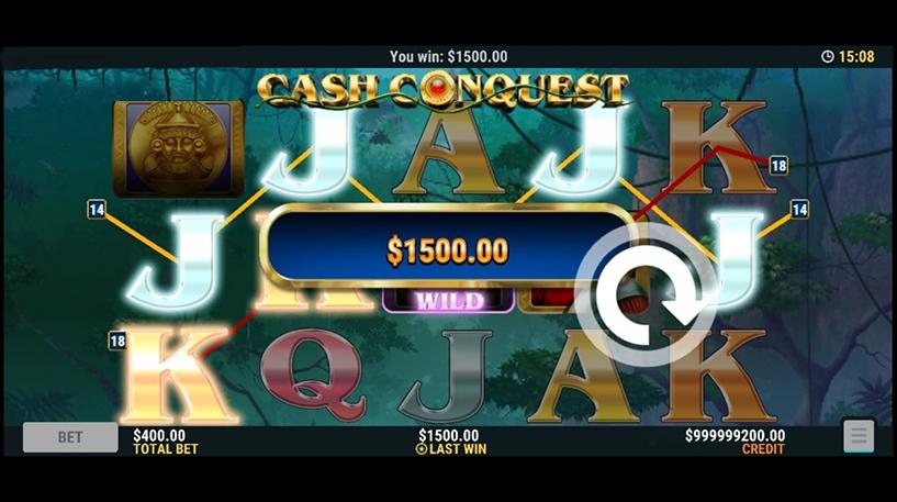 Cash Conquest Slot Screenshot 3