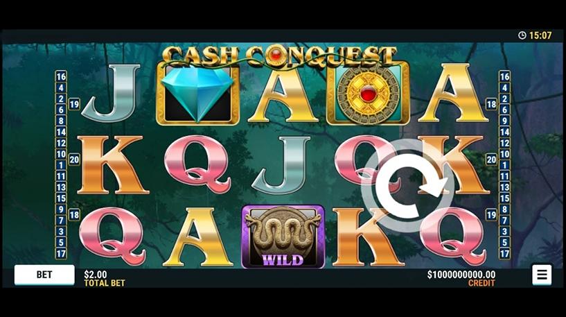 Cash Conquest Slot Screenshot 1