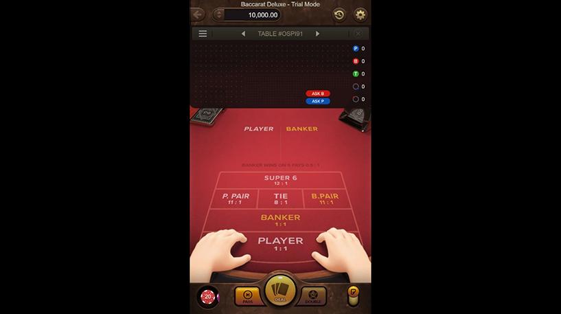 Baccarat Deluxe Screenshot 2