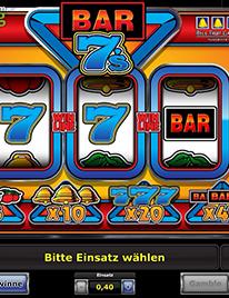 Bar 7's Slot Screenshot 3