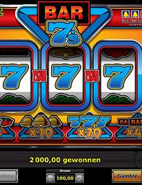 Bar 7's Slot Screenshot 1