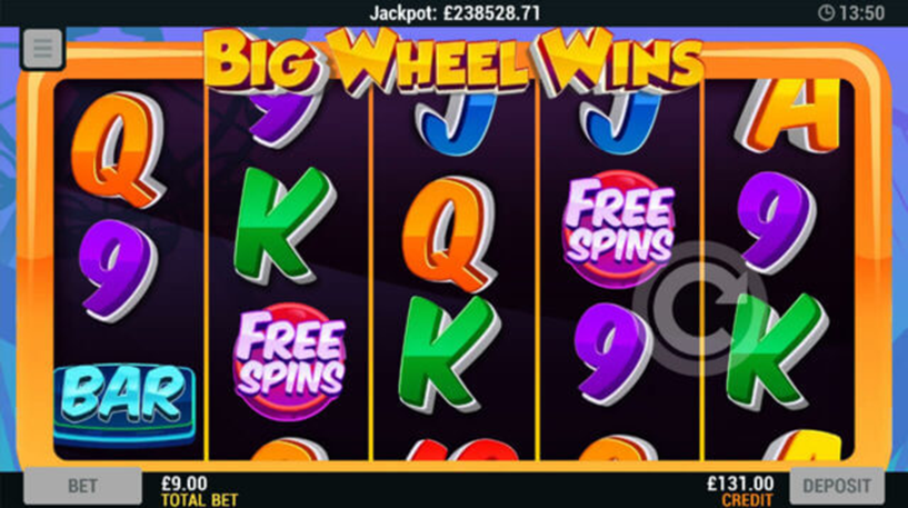 Big Wheel Spin Slot Screenshot 1