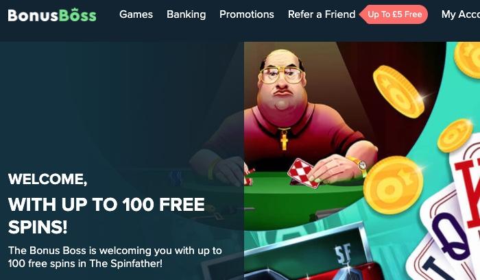 Bonus Boss Casino Screenshot