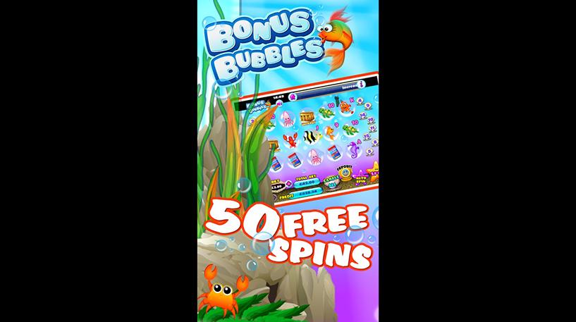 Bonus Bubbles Slot Screenshot 3