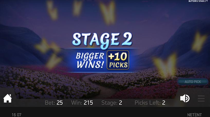 Butterfly Staxx 2 Slot Screenshot 3