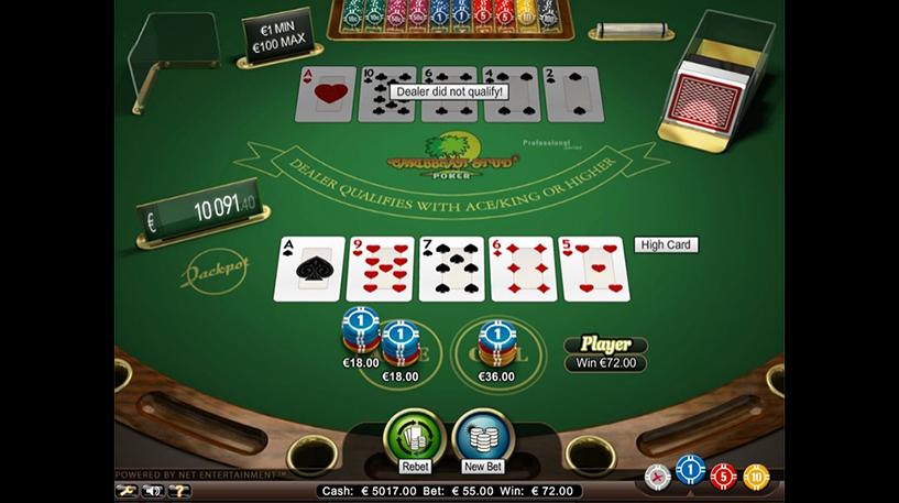 Caribbean Stud Pro Series Screenshot 1