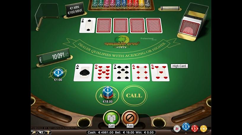 Caribbean Stud Pro Series Screenshot 3