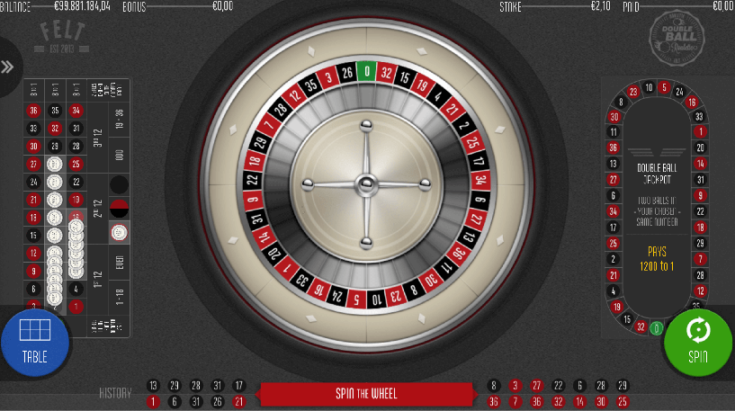 Double Ball Roulette Screenshot 3