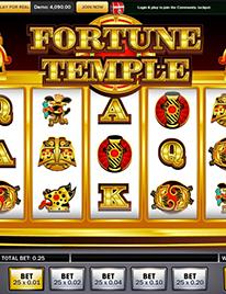 Fortune Temple slot Screenshot 2