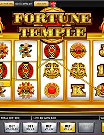 Fortune Temple slot Screenshot 1