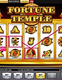 Fortune Temple slot Screenshot 3