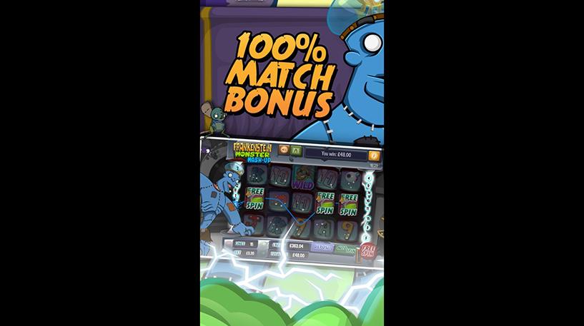 Frankenstein Monster Mash Up Screenshot 1