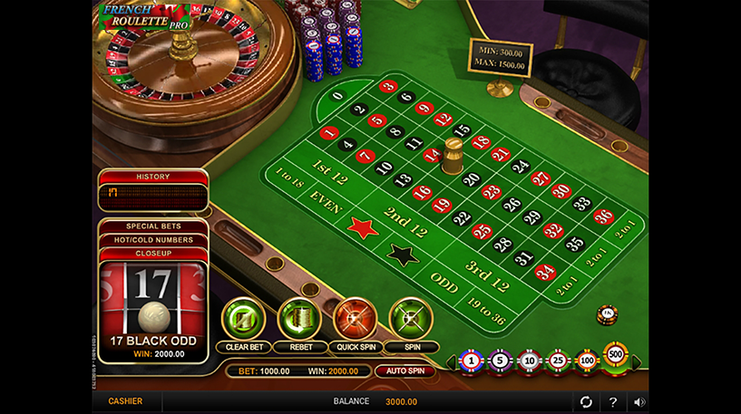 French Roulette Pro Screenshot 1