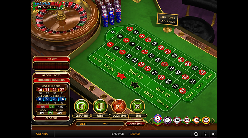 French Roulette Pro Screenshot 2