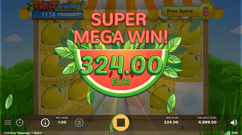 Fruit Shop Megaways Screenshot 1