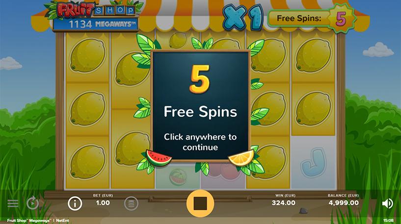 Fruit Shop Megaways Screenshot 3