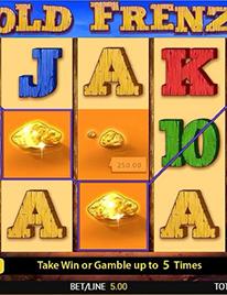 Gold Frenzy Slot Screenshot 3