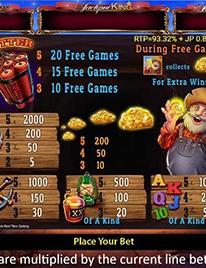 Gold Frenzy Slot Screenshot 2