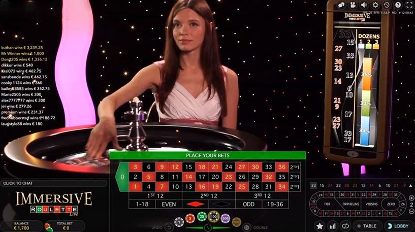 Immersive Roulette Screenshot 3