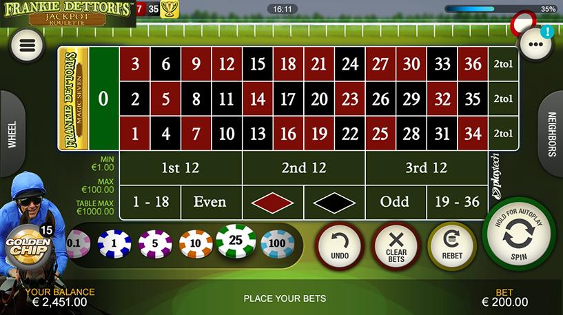 Jackpot Roulette Screenshot 1