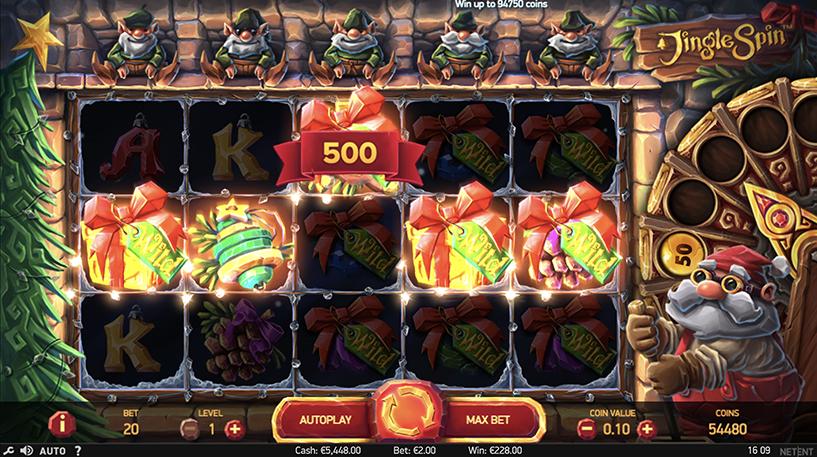 Jingle Spin Slot Screenshot 3