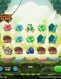Jin's Bouncing Wilds Slot Screenshot 2
