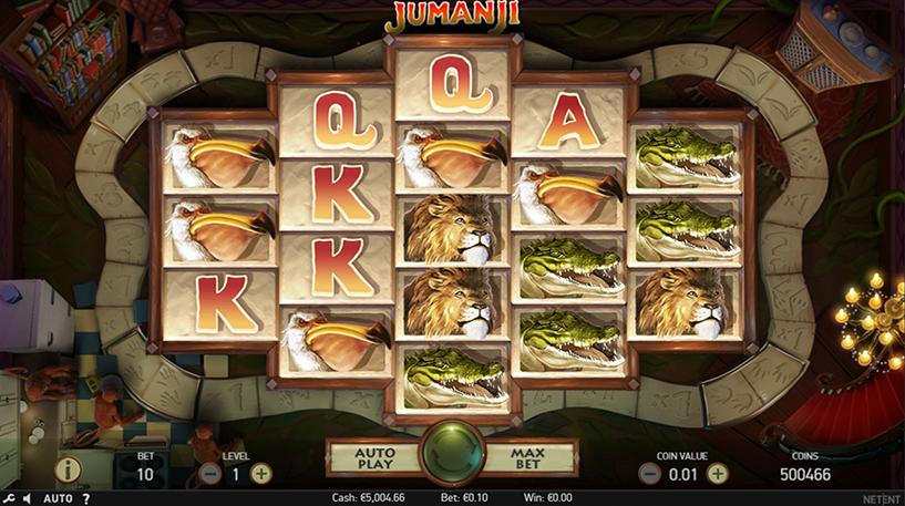 Jumanji Slot Screenshot 3