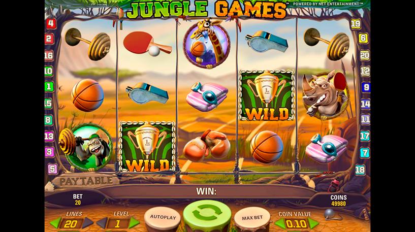 Jungle Games Slot Screenshot 3