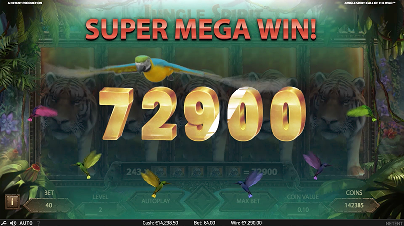 Jungle Spirit Slot Screenshot 2