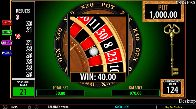 Key Bet Roulette Screenshot 3